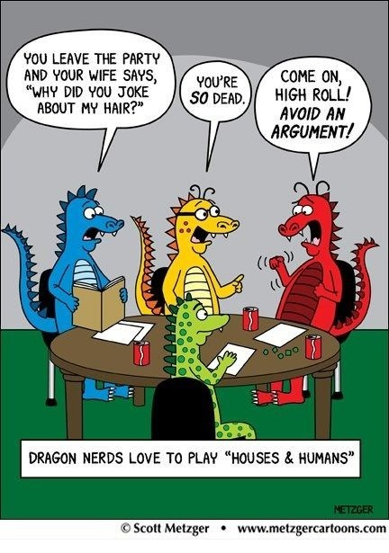 dnd d&d dragons houses and humans - 6990515456