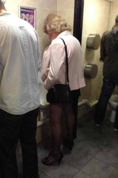 urinal,restroom,cross dresser