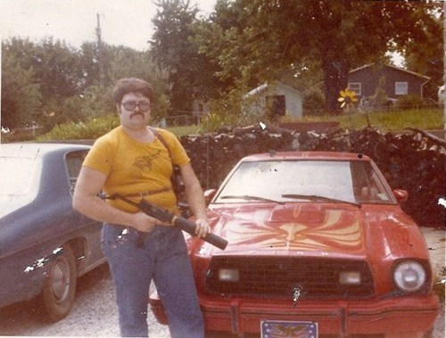 gun,bad ass,firebird,poorly dressed,g rated