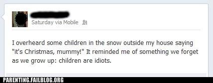 snow facebook dumb kids - 6991360768