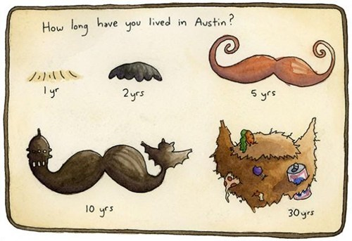 mustache Austin facial hair texas - 6991376640
