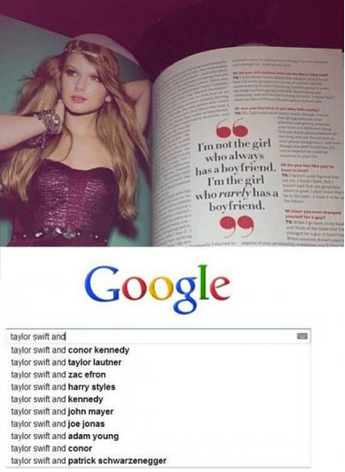 taylor swift Music relationships funny - 6991408128