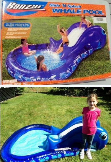 kids products,to scale,get what you pay for,whale pool