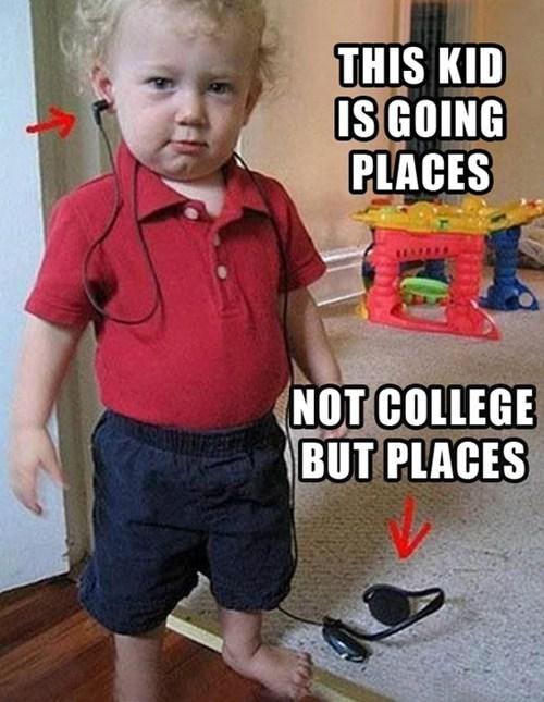 going places dumb kids headphones g rated Parenting FAILS - 6991676416