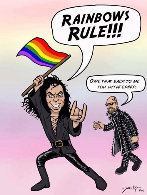 dio,rob halford,rainbow