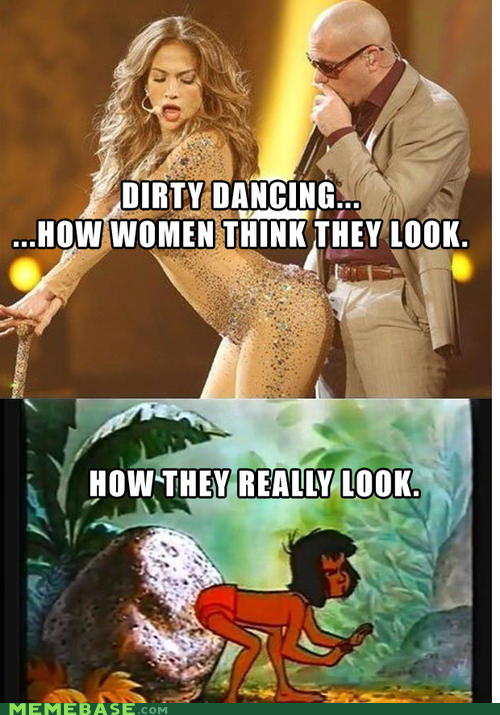 dancing,expectations vs reality,dirty dancing,The jungle book