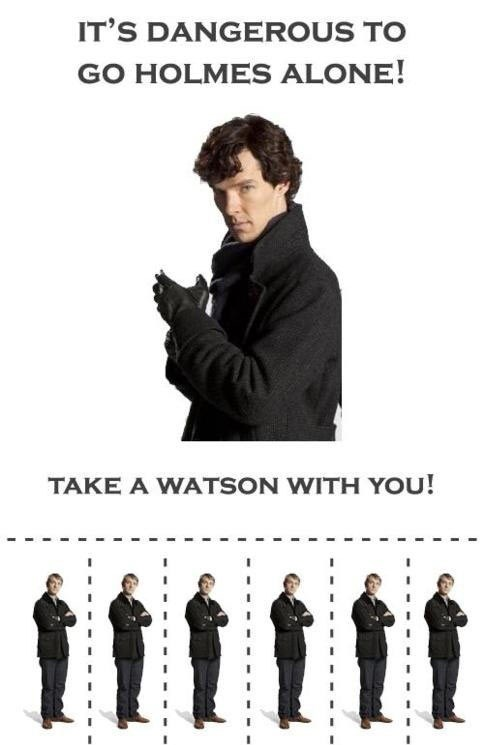 its dangerous to go alone puns Sherlock bbc
