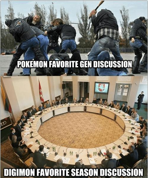 Pokémon comparison digimon digifriday - 6991936512