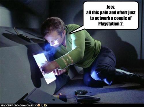 Captain Kirk difficult Star Trek William Shatner network playstation 2 - 6991952128