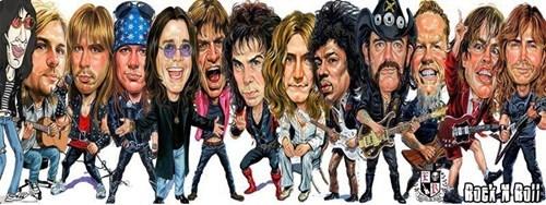 rock stars jimi hendrix Ozzy Osbourne - 6991965440