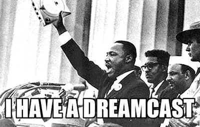 Martin Luther King,sega,I have a dream,classic,dreamcast