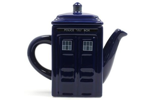 tardis nerdgasm doctor who tea kettle - 6992038912
