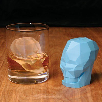 ice cube alcohol design skull - 6992048128
