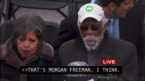 news,inauguration day,celeb,Morgan Freeman