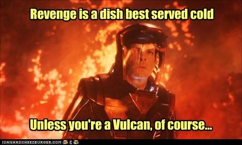 revenge Spock Zachary Quinto Vulcan Star Trek star trek into darkness - 6992260096