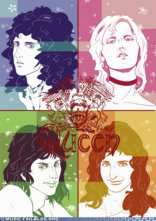 queen poster fabulous - 6992489216