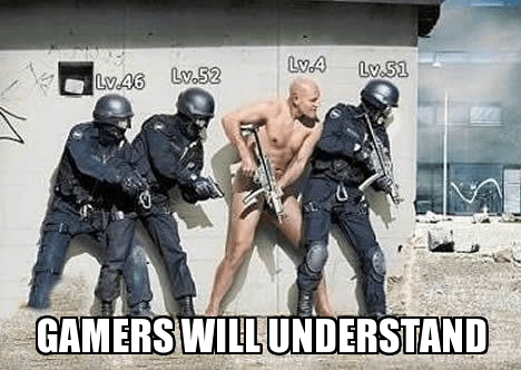 no gear gamers leveling up