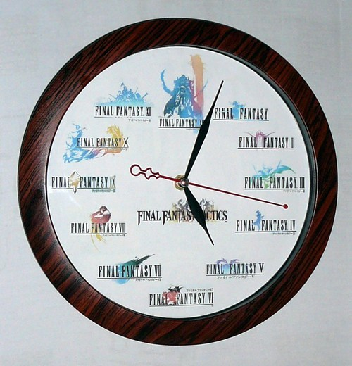 final fantasy clock - 6992994560