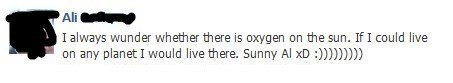 oxygen,living on the sun,sun
