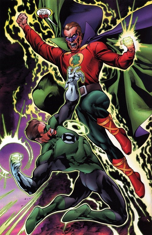 Green lantern alan scott hal jordan