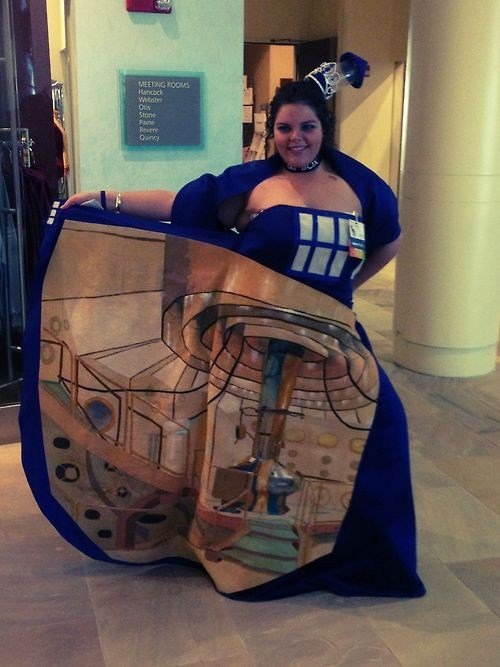 Wanna Peek Inside My Tardis Dress?