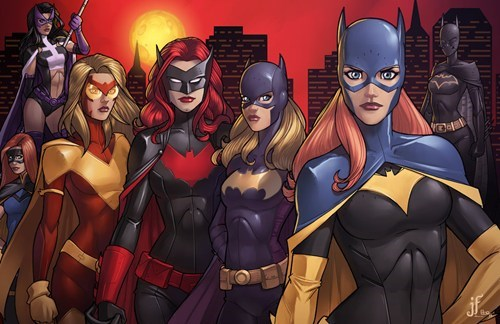 art,batwoman,awesome,batgirl,huntress