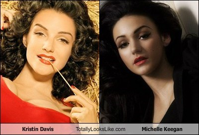 Kristin Davis Totally Looks Like Michelle Keegan