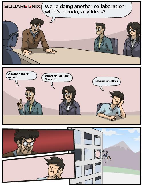 square enix Memes comic nintendo - 6993938176