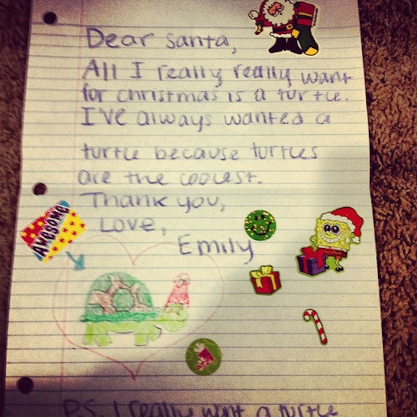 christmas letters kids these days santa