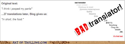 Bad Translator poop food - 6994121984