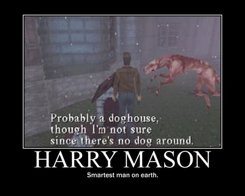 harry mason,dog house,video games