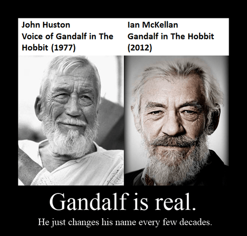 face real Movie gandalf