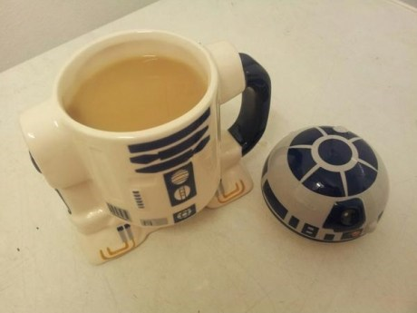 r2d2,star wars,coffee cup