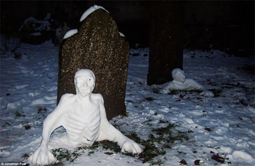 nerdgasm zombie snowman g rated win - 6994532864