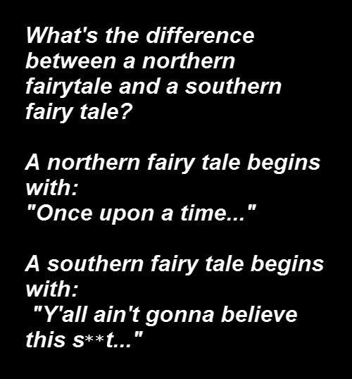 north vs south,fairy tales,contrasts