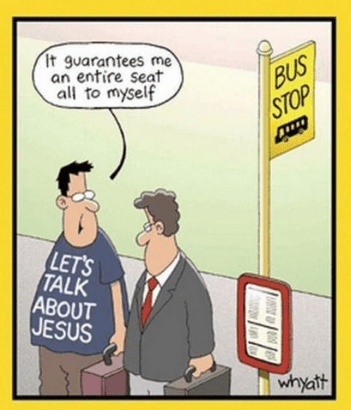 jesus comic bus