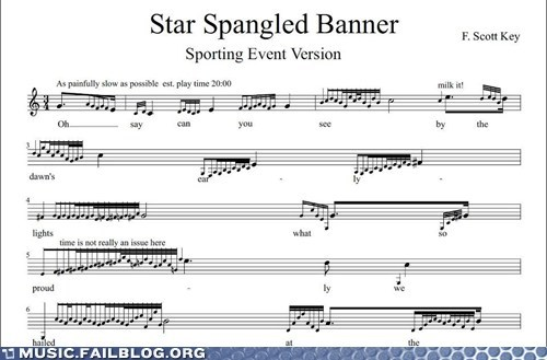 ornamentation star-spangled banner national anthem Music FAILS g rated - 6994689792