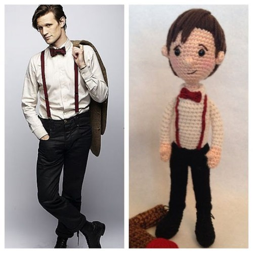 Crocheted,doctor who,characters,Amigurumi
