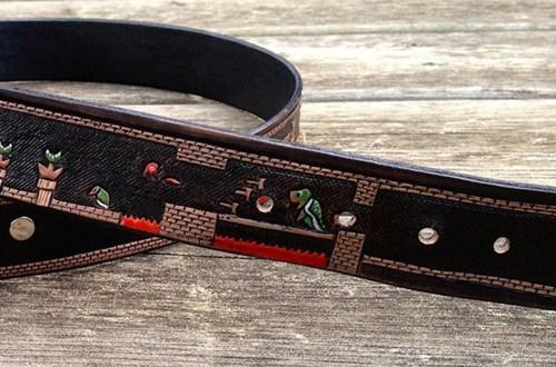 super mario final level nintendo belt - 6994723584