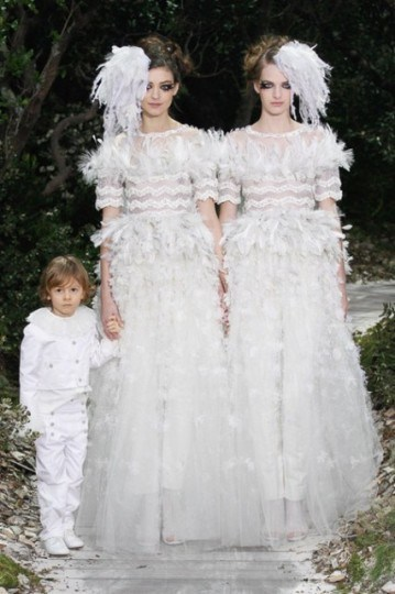 runway couture chanel 2013 bridal