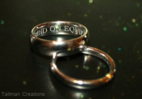 world of warcraft rings WoW gamers bind on equip engraved - 6994812160