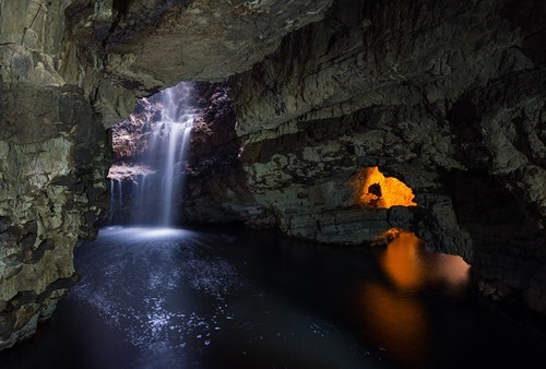 The Smoo Cave in Scotland