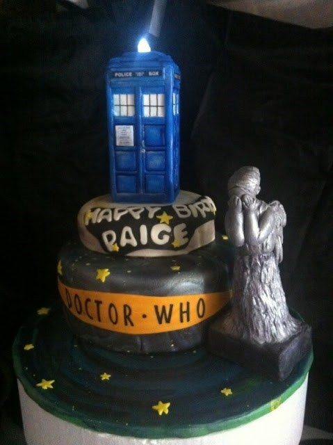cake nerdgasm doctor who food - 6994934784