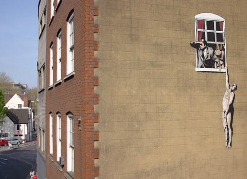 banksy Street Art graffiti - 6994939136