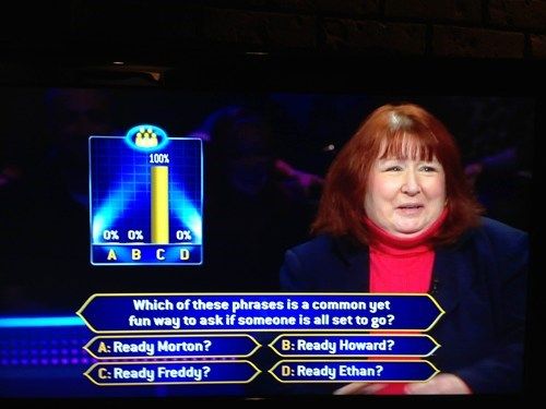 game show,who wants to be a millionaire,facepalm,lifeline
