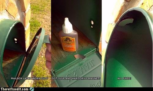 glue mailbox magnet - 6995152384