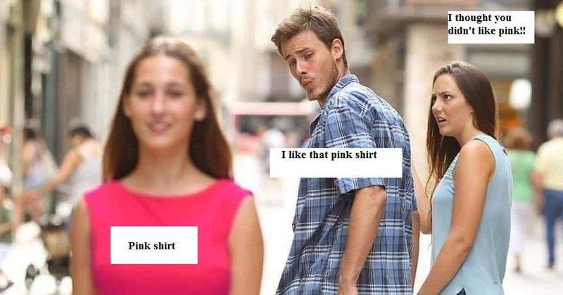 cover image of distracted boyfriend meme