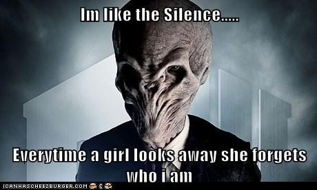 forever alone,silence,doctor who,forgets,girl