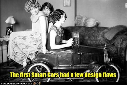 smart car car tiny silly ladies - 6996701696