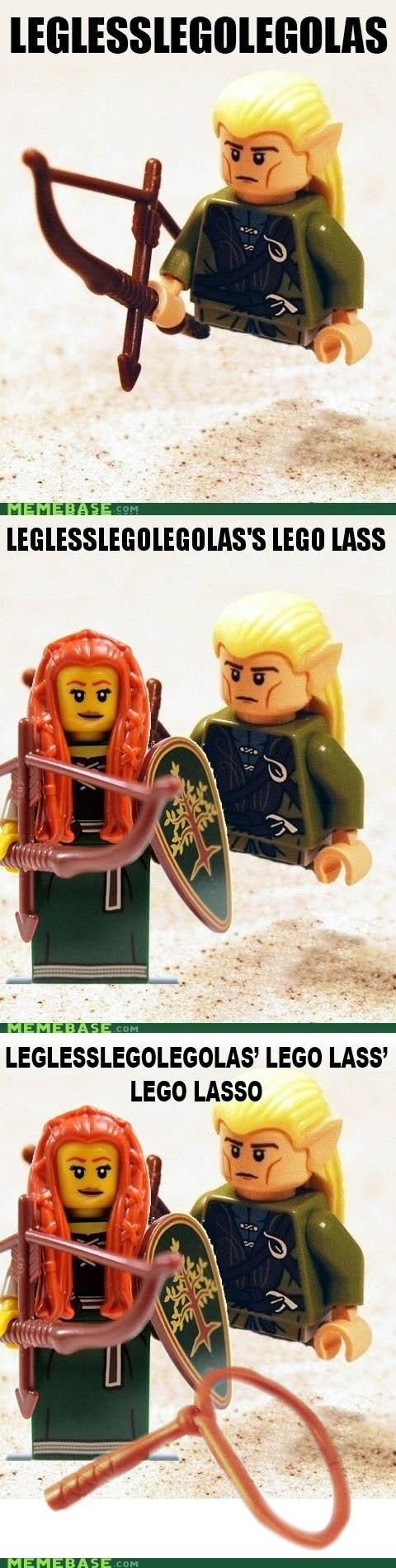 lasso legolas lego re-frames - 6996796416